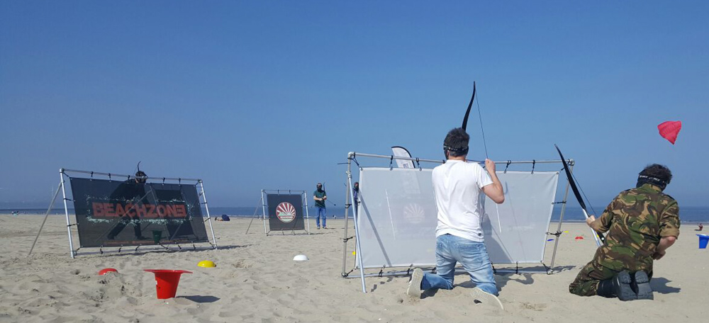 Sportieve uitjes archery tag