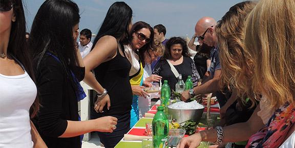 cocktail workshop vrijgezellenfeest